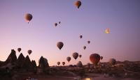 Kapadokya'daki balon turlarına 9 ayda 437 bin katılım