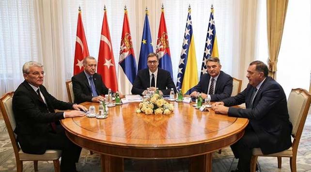 Cumhurbaşkanı Erdoğan: Bosna Hersekin hükümet sorununun artık halledilmesi gerekiyor