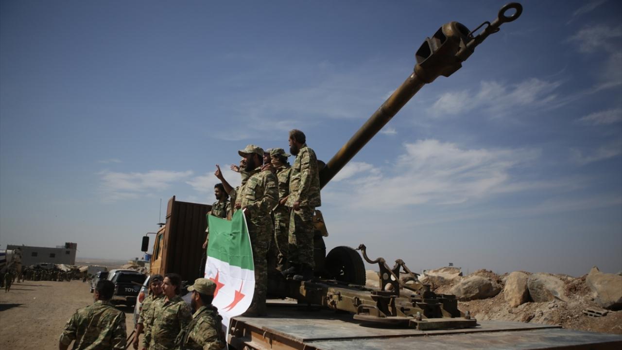 Suriye Milli Ordusu, Münbiç cephe hattına yığınak yaptı