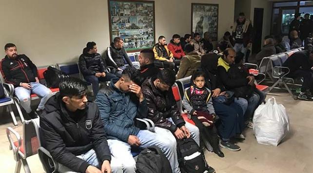 Edirne'de bin 28 düzensiz göçmen yakalandı