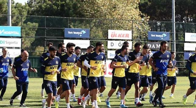 Fenerbahçede Denizlispor maçına hazırlık başladı