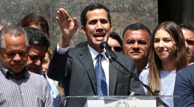 ABDden Venezuelalı muhalif lider Guaidoya ilave yardım