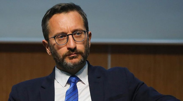 İletişim Başkanı Altun: Dünya, Türkiyenin Suriyenin kuzeydoğusu için hazırladığı planı desteklemeli