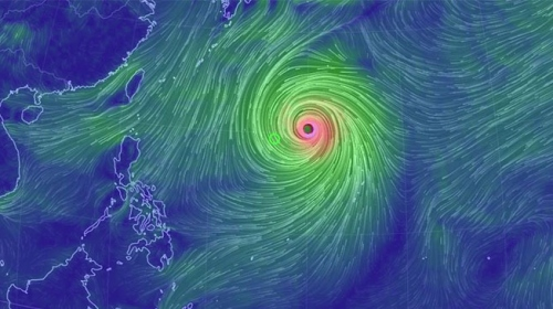 Süper Tayfun Hagibis Japonya'ya ilerliyor