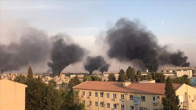 Tel Abyaddaki terör hedefleri ateş altında