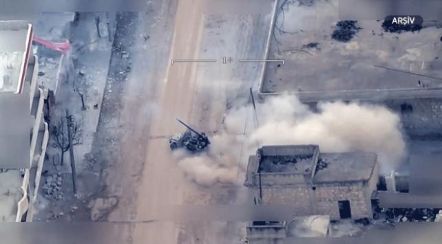 YPG/PKKlı teröristlerin attığı roket Nusaybine düştü