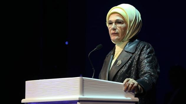 Emine Erdoğandan Barış Pınarı Harekatı paylaşımı