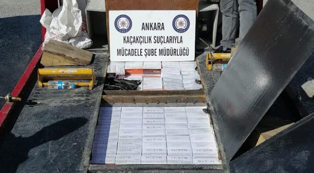 Ankarada kaçakçılık operasyonu