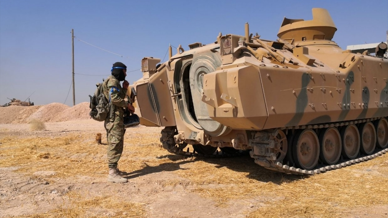 Barış Pınarı Harekatına Suriye Milli Ordusu da destek verdi