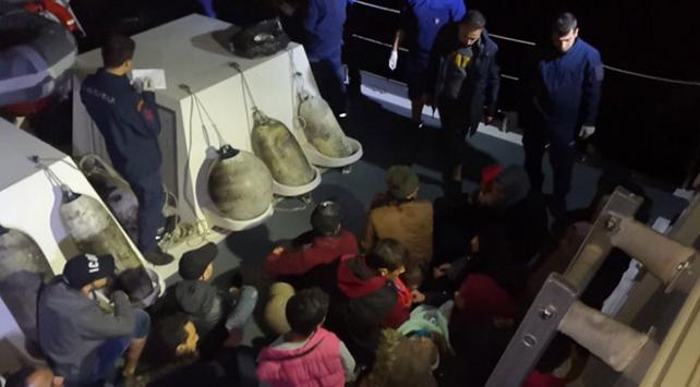 Aydında 120 düzensiz göçmen yakalandı