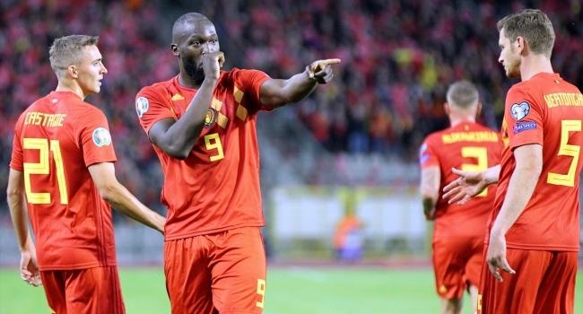 Belçikadan 9 gollü galibiyet