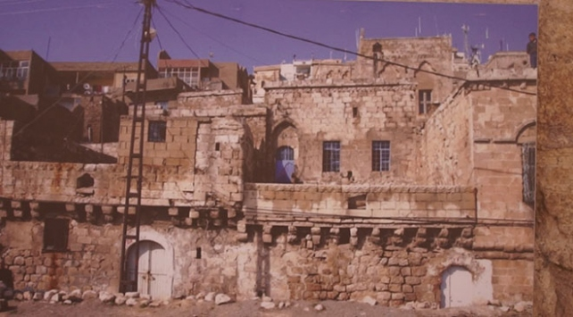 Mardinde enerji tasarruflu tarihi taş bina: Tamirevi