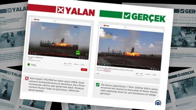 Esed rejiminin varil bombasını, TSK saldırısı gibi gösterdiler