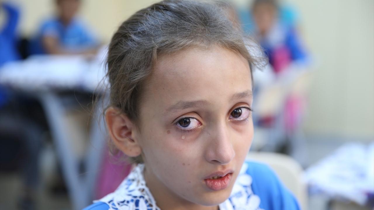 Suriyedeki iç savaşın yetim bıraktığı kız çocukları
