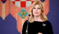 Hırvat cumhurbaşkanından diplomatik gaf