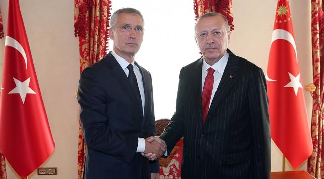Cumhurbaşkanı Erdoğanın Stoltenbergi kabulü başladı