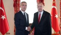 Cumhurbaşkanı Erdoğan'ın Stoltenberg'i kabulü başladı