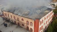 Siirt'te Kur'an kursu binasında yangın