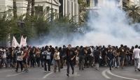 Yunanistan'da öğrenciler ile polis arasında arbede