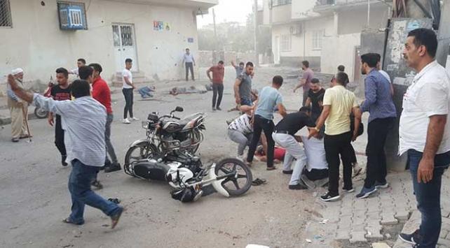 YPG/PKKlı teröristlerden Nusaybine havanlı saldırı