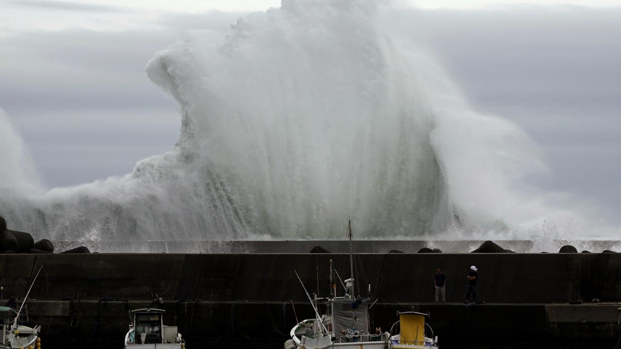 Japonya Hagibis tayfununa hazırlanıyor
