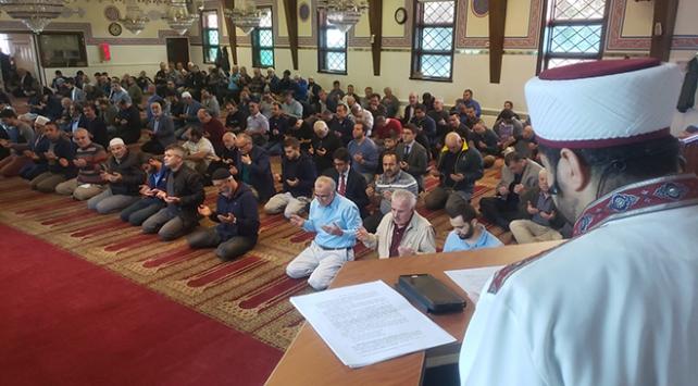 ABDdeki Türk camilerinde Mehmetçik için dua