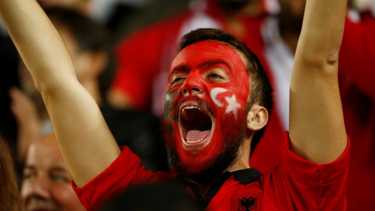 Türkiye-Arnavutluk maçını en iyi anlatan 10 kare