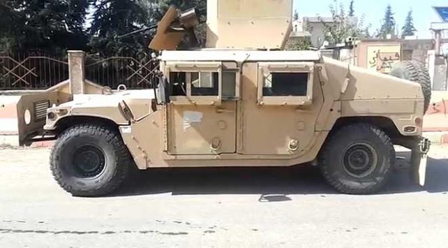 YPG/PKKnın kullandığı ABDye ait araçlar bulundu