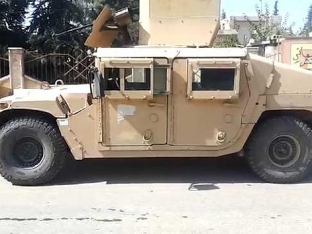 YPG/PKKnın kullandığı ABDye ait araçlar ele geçirildi