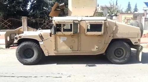 YPG/PKK'nın kullandığı ABD'ye ait araçlar ele geçirildi