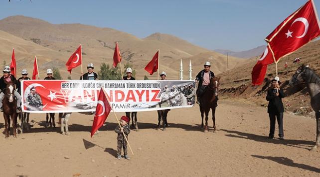 Kırgız Türklerinden Barış Pınarı Harekatına destek