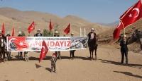 Kırgız Türklerinden Barış Pınarı Harekatı'na destek