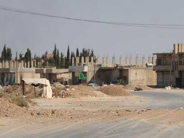 Rasulayn şehir merkezine giriş anı