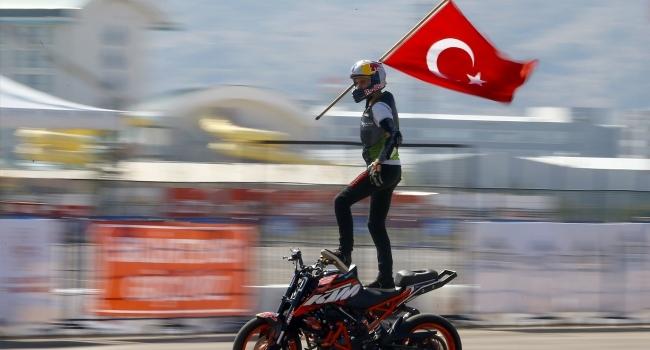 Avrupa Şampiyonasında Mehmetçiğe selam