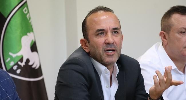 Denizlisporda Mehmet Özdilek dönemi resmen başladı