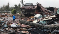 Japonya'da son 60 yılın en şiddetli tayfunu yaşanıyor
