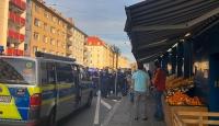 Terör örgütü yandaşları Almanya'da Türk derneği ve marketine saldırdı