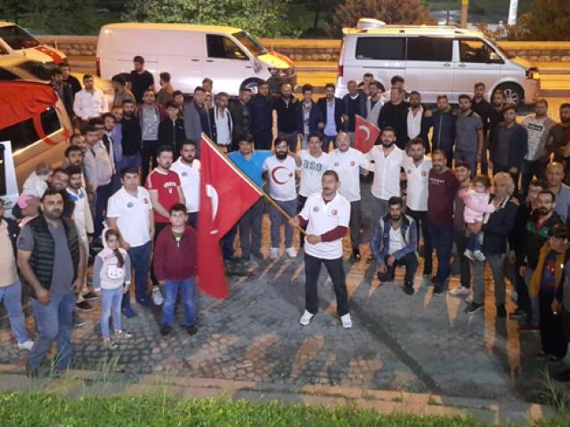 Barış Pınarı Harekatına konvoylu destek