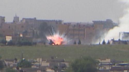 Terör örgütünün Tel Abyad'daki sözde karargahı vuruldu