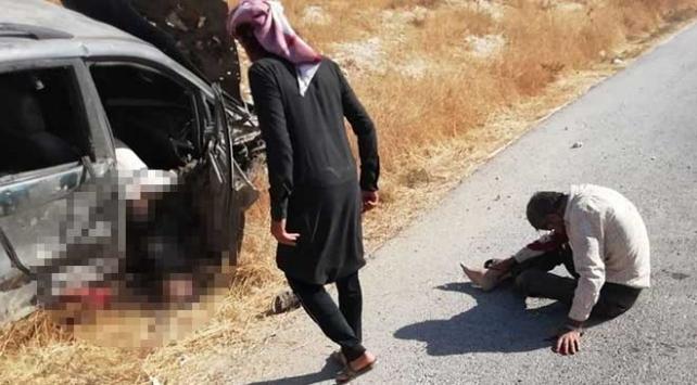 PKK/YPG füzeyle sivilleri vurdu: 2 ölü