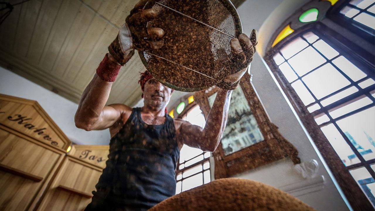 Giritli ailenin 150 yıllık taşından çıkan lezzet: Dibek kahvesi
