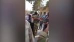 Suriye Milli Ordusu askerleri Tel Abyadda sevinçle karşılandı