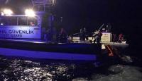 Ayvalık'ta düzensiz göçmenleri taşıyan tekne battı