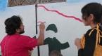 İdlibli grafiti sanatçısından Barış Pınarı Harekatına destek