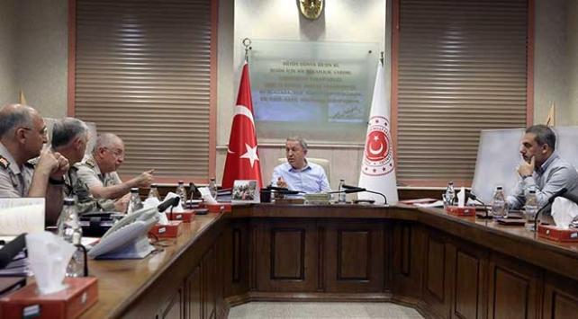 Bakan Akar, MİT Başkanı Fidan ile görüştü