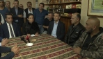 YTBden Almanyada saldırıya uğrayan Türklere ziyaret