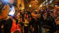Hong Kong'da protestolarda uzaktan kumandalı patlayıcı kullanıldı