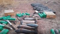Tel Abyad'da çok sayıda silah ve mühimmat ele geçirildi