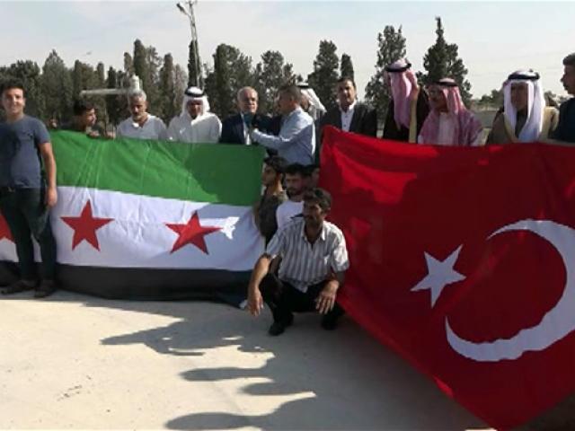 Arap aşiretlerinden Türkiye'ye Barış Pınarı Harekatı teşekkürü