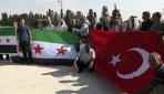 Arap aşiretlerinden Türkiyeye Barış Pınarı Harekatı teşekkürü